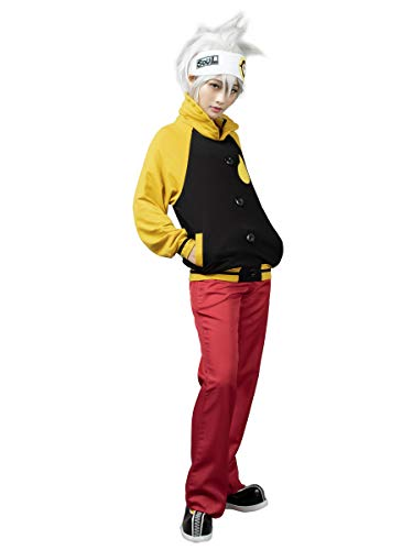 Cosfun Soul Eater Soul Evans Anime Cosplay Costume mp000039 (Small)