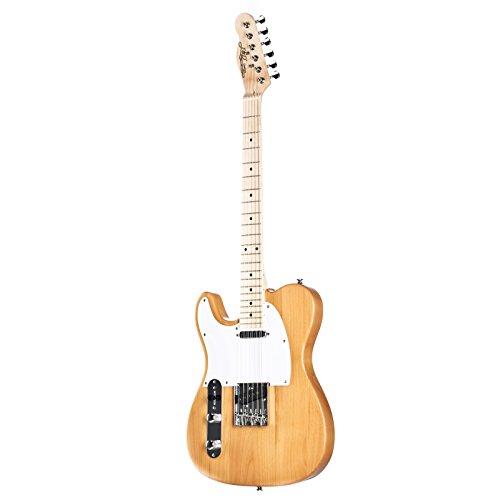 J & D E-Gitarre TL Lefthand Natural