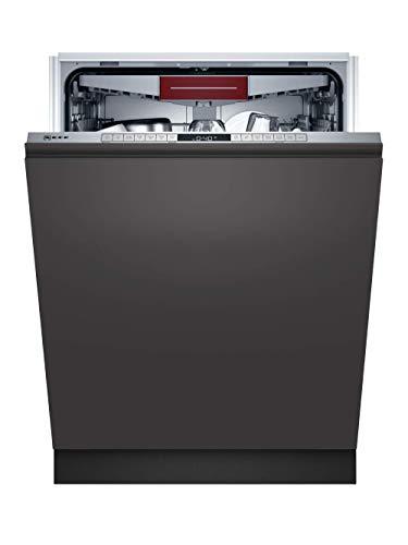 Neff S255HVX15E N 50 XXL - Lavavajillas totalmente integrado, 13 cubiertos, 60 cm