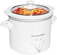 Proctor Silex 33015Y 1-1/2-Quart Round Slow Cooker/Party Dipper