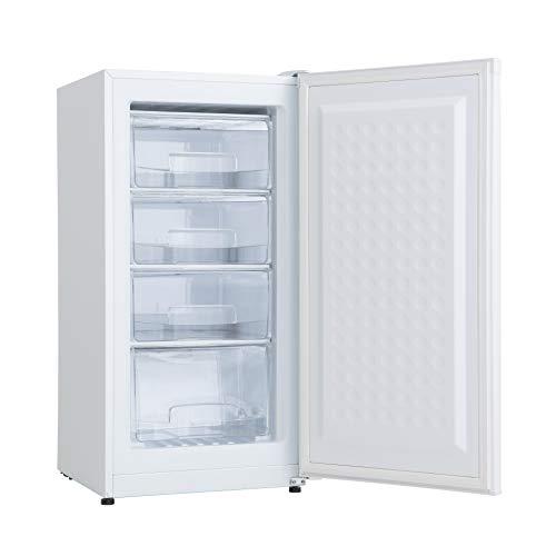 ALLEGiA アレジア 冷凍庫 108L 家庭用 前開き スリム 4段引き出し ARBD116NW