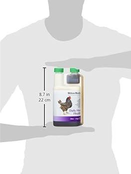 Hilton Herbs Daily Hen Health 500 ml Flacon Complément Alimentaire Volaille Soutient Tout au Long de l'Année