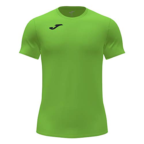 Camiseta Manga Corta Record II Verde flúor
