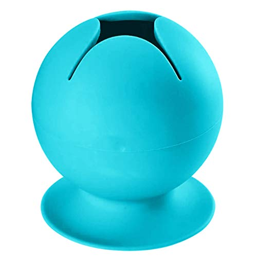 Guangcailun Perder el colector de plástico de costura deshierbe Colector Colector de Hogares de chatarra de almaceniento dispositivo de almaceniento de chatarra ventosa, Azul