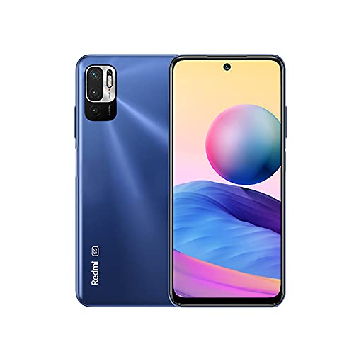 Redmi Note 10 5G Smartphone Dual 5G SIM RAM 6GB ROM 128GB 90Hz 6.5' DotDisplay 48MP Triple Cámara 5000mAh (typ) Batería Azul [Versión en Español]