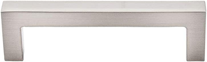 Top Knobs M1161 Nouveau III Square Bar Pull, Brushed Satin Nickel