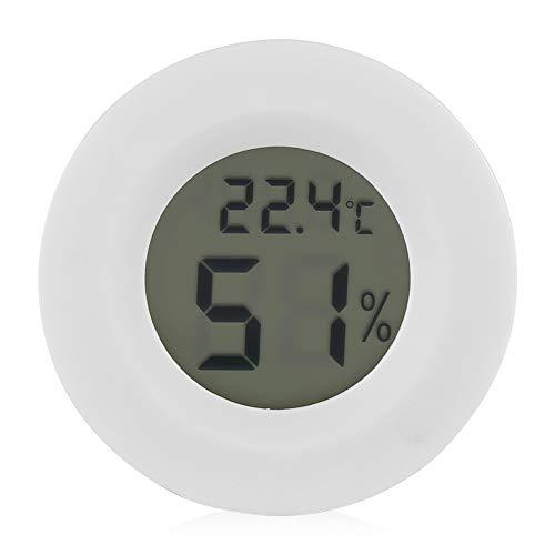 GXMZL Hygrometer -Temperatur-Feuchte-Messgerät Digitales LCD-Temperatur-Feuchte-Messgerät Thermometer Hygrometer for Reptilien-Haustier