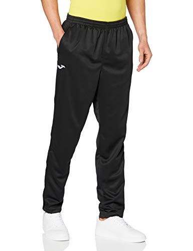 Joma - Pantalon Largo Poly. Interlock Negro para Hombre