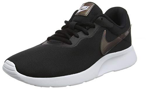 Nike Women's Tanjun White/White Black Running Shoe 8 Women US