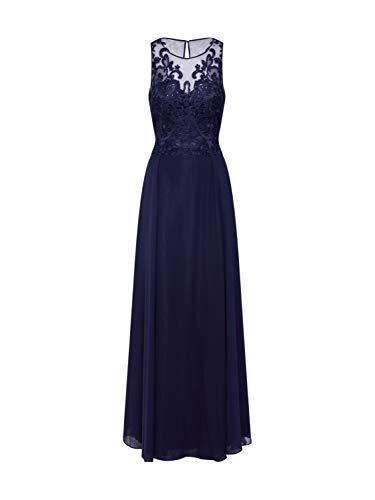 Vera Mont Damen Abendkleid dunkelblau 42