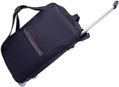 Trolley - approved for travel cabin - ultra-light travel luggage suitcase (Color : Noir, Size : Grand)