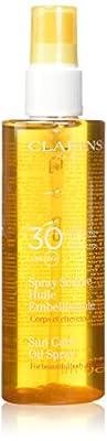 Clarins SPF 30 Sunscreen Care Oil Spray, 5.0 Ounce