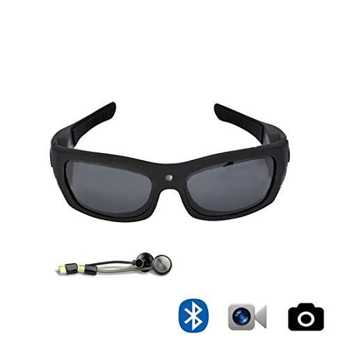 YUHUII Glasses Bluetooth Polarized Sunglasses Detachable Headphones Sports Glasses Hands Free Calling for Men Women Running Cycling Driving Baseball (Color : Set)