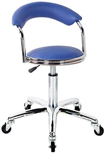 Computerstoel Meubelkruk Hefbar Hoge kruk Draaibare bureaustoelen Verstelbare bureaustoelen Barkruk Stoel met blauw