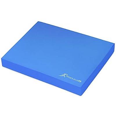 ProsourceFit Exercise Balance Pad 15 x 19 Blue