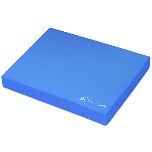 ProsourceFit Exercise Balance Pad 15 x 19 Blue
