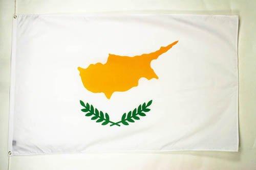 AZ FLAG Flagge ZYPERN 150x90cm - ZYPRIOTISCHE Fahne 90 x 150 cm - flaggen Top Qualität