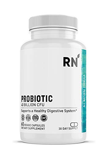 Probiotic 40 Billion CFU with MAKtrek® Bi-Pass Technology - Probiotics for Women and Men - Digestive and Gut Health Supplement with Live Lactobacillus and Bifidobacterium Lactis (60 Veggie Capsules)