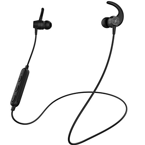 Fire-Boltt Echo 1200 Bluetooth Neckband, BT 5.0 Earphones, Wireless Headsets with Voice Assistance, with HD Stereo Sound & Great Playtime (Black)