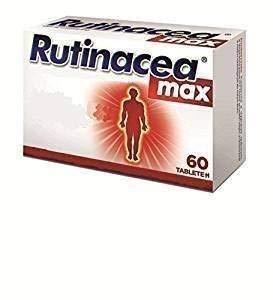 Vitamin C mit Rutin, Zink, Selen, Zitrusflavonoiden, 60 Tabletten - bei Erkältung, Halsschmerzen, für das Immunsystem, Rutinacea max, medikamente