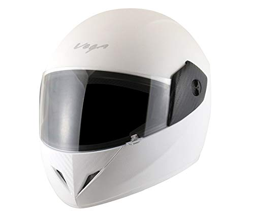 Vega Cliff CLF-LW-M Full Face Helmet (White, M)