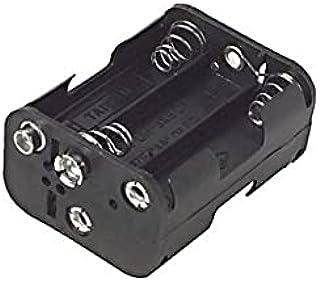 36EHB Um3x6 Aa Battery Holder Holds 6X Batteries Takes: 6 X 'Aa' Cells (Um3 X8) 61 x 29.5 x 56.5mm Takes: 6 X 'Aa' Cells (...