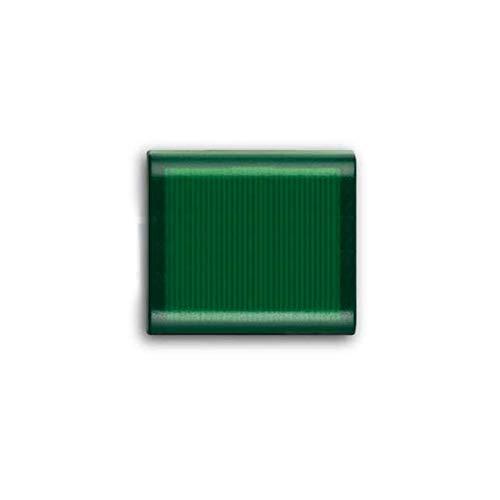 Copritasto 1/2 modulo con diffusore verde Abb Elos 2CSE1514EL