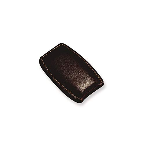 ICE CARATS Brown Leather Money Clip Bag Wallet Key Ring Fashion Jewellery for Dad Mens Gifts for Him
