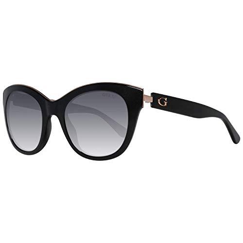 Guess GU 7494 Gafas de sol, Negro (Black/other/Gradient Smoke), 50 para Mujer