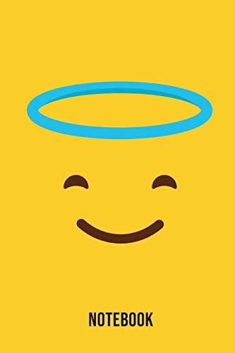 Notebook: Angel Emoji Emoticons Notebook,: Emoticons Notebook For Kids, social media emoticons Journal, Emoticon Face Themed Birthday, Emoji Journal, ... Emoji Stuff, 120 Pages, 6x9, Matte Cover.