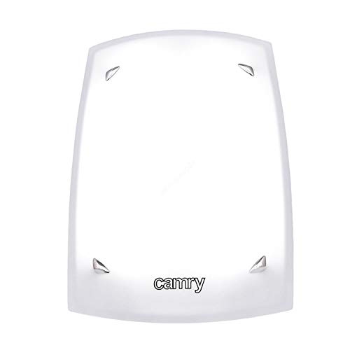 Camry CR 2166 Tageslichtlampe Lichttherapielampe Lichttherapiegerät Tageslichtsimulation 10.000 LUX Natürliche Lichtfarbe 6500K