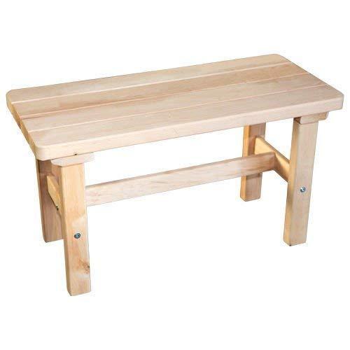SudoreWell® Saunabank aus hochwertigem Erlenholz