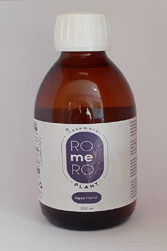 rosemary ROmeRO plant. Agua floral de romero 250 ml. Hidrolato. Alto poder hidratante, calmante y astringente.