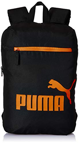 PUMA Daypack IND IV Black-Vibrant Orange, Puma Black-Vibrant Orange