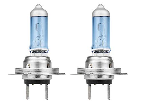 Eufab 13391 Blue Power Light - Bombillas halógenas azuladas (12 V, 55 W, H7, PX26D, 2 unidades)