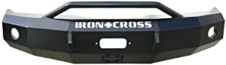 Iron Cross Automotive 22-615-97 Heavy Duty Front Bumper with Push Bar for 1997 to 2001 Dodge Ram 1500/2500/3500