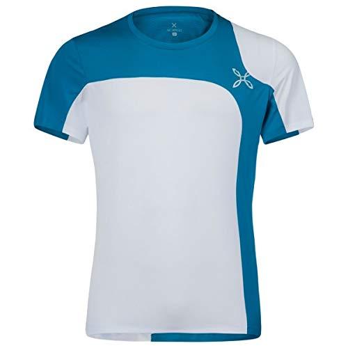 Montura Ottanio T-Shirt d'extérieur pour Homme Bianco/Blue XL Bianco/Blue otanio.