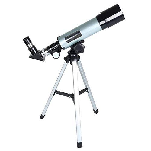 YUXIA Telescopio per I Bambini O Adulti Principianti Monoculare con Treppiedi Portatile Spazio Cannocchiale Ideale per I Principianti Adulti Bambine Ragazzi Astrofotografia
