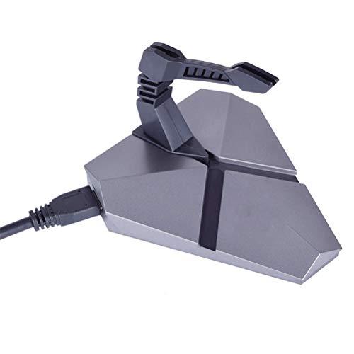 Flashing Soporte de Cable Hub de Juego 7 Cambio de Colores Cambio de Colores Mouse Bungee USB Cables Mental 3-Port Tablets Redes