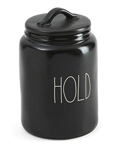 Rae Dunn by Magenta LL Large Letter Canister (HOLD (BLACK)- LARGE- TRADITIONAL) -  All Things Rae Dunn