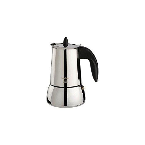 Valira | Isabella | Cafetera apta para inducción | 6 tazas, Acero 18/10