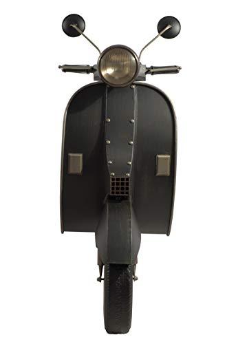 CHICCIE - Patinete Decorativo de Metal con LED, 122 cm, decoración de Pared Vespa