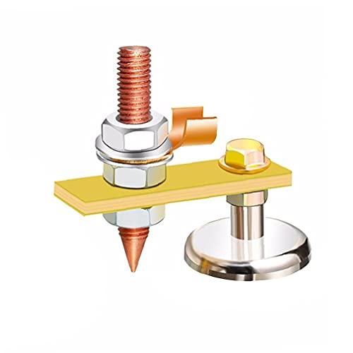 Soldadura Imán principal Fix pinza de masa magnética de soldadura único de apoyo magnético fuerte para soldadura eléctrica Planta de plata, Accesorios