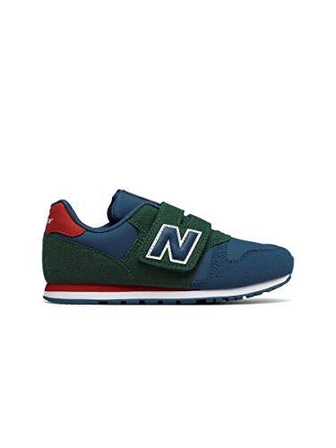 New Balance 373 Sneaker Bambini KV373PEY Blue Green (32 EU)