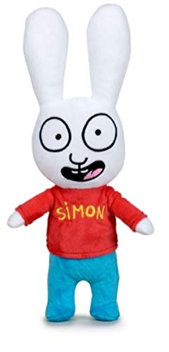 PBP Simon - Peluche Conejo Simon Calidad Super Soft (37CM, Clasico)