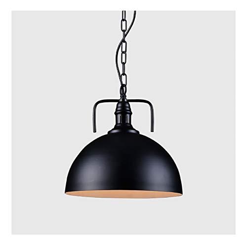 Iluminación colgante Luz pendiente hierro industrial iluminación de la lámpara Loft Cabeza restaurante individual (Color : #2)