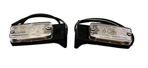 1 Paar LED Anhänger Positionsleuchten Begrenzungsleuchten Umrissleuchten eckig