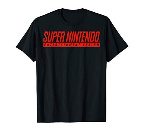 Super Nintendo Entertainment System Classic Logo T-Shirt
