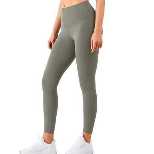 QTJY Pantalones de Yoga Nalgas Desnudas de Fitness de Cintura Alta, Ejercicios de Gimnasia, Pantalones de Fitness para Correr, Leggings de Celulitis CM
