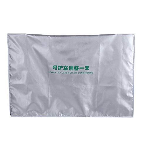Copertura condizionatore d'aria Copertura per esterni Anti-polvere Impermeabile Anti-polvere Anti-neve Anti-sole Home Watcher Copertura quadrata per condizionatore d'aria Accessori(3p 92*35*69)